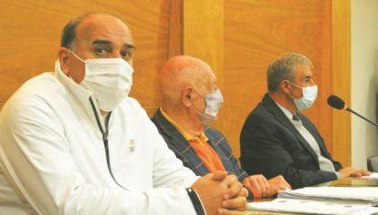 ÁNGEL CABRERA. El jueves comenzó el juicio. Es asistido por el abogado Carlos Hairabedián.