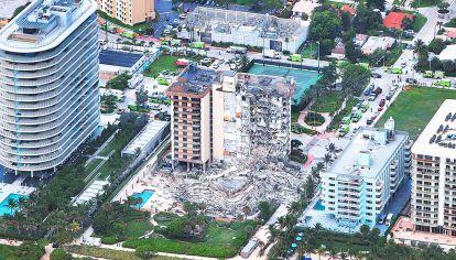 Caso. Derrumbe del edificio de Champlain Towers en Miami, Estados Unidos.