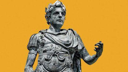 Julio César Massa. Como aquel romano, pieza equilibradora del Primer Triunvirato del Imperio, el tigrense se percibe cumpliendo ese rol entre Alberto y Cristina. Esperando heredar el poder, pero sin terminar como el político imperial.