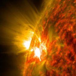 Es la mayor erupción solar de los últimos cuatro años.