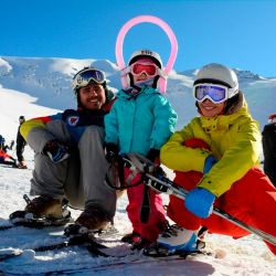 El centro de esquí La Hoya ya recibió suficiente nieve e inauguró la temporada el pasado 2 de julio.