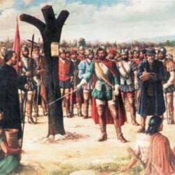 El acto fundacional tuvo lugar a orillas del río Suquía, más precisamente en un sitio llamado Quizquizacate.
