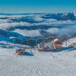 En el Cerro Catedral ya tienen todo listo, protocolos incluidos, para la apertura de la temporada de esquí el 9 de julio.