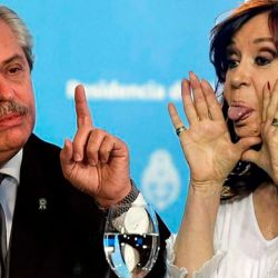 Alberto Fernández - Cristina Kirchner   Foto:cedoc