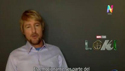 Owen Wilson en exclusiva con RePerfilAr