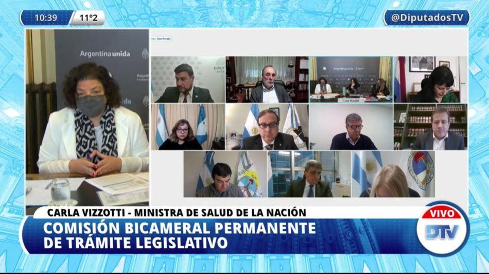 Comisión Bicameral de Trámite Legislativo 20210706