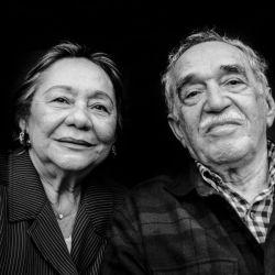 Gabriel García Márquez y Mercedes Barcha y su larga historia de amor.