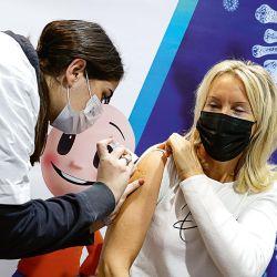 Vacunación contra la Covid-19. | Foto:AFP