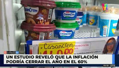 La inflación podría alcanzar un 60% anual en el país