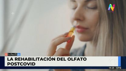 Rehabilitación del olfato post-Covid