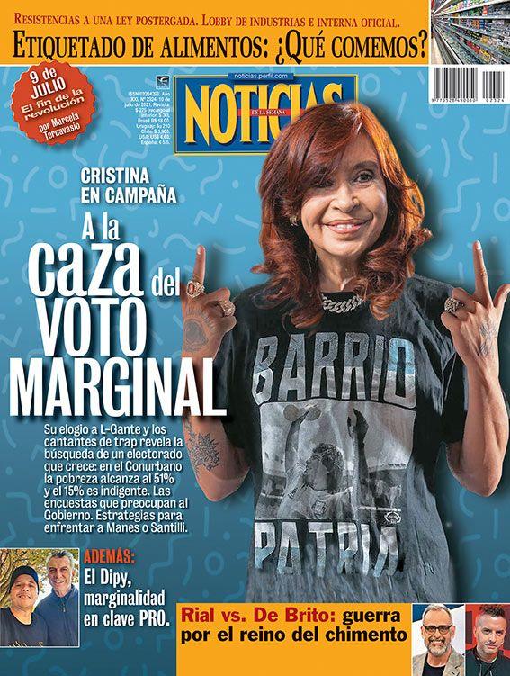 Tapa Nº 2324: Cristina en Campaña   Foto:Pablo Temes