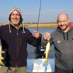 Dónde ir a pescar este fin de semana largo.