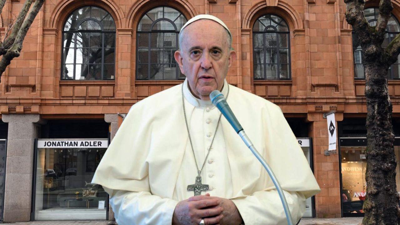 El papa Francisco y la propiedad londinense del escándalo.  | Foto:CEDOC
