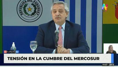 Clima de máxima tensión en la cumbre del Mercosur