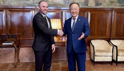 Reunión de Guzmán en Venecia con el viceprimer ministro y ministro de Economía y Finanzas de Corea del sur Hong Nam-ki
