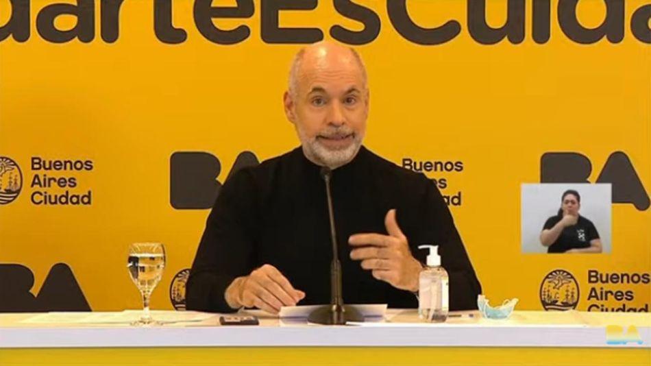 Horacio Rodríguez Larreta 20210708