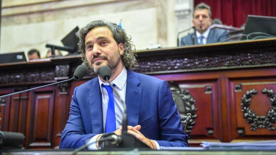 Santiago Cafiero en Diputados 20210708