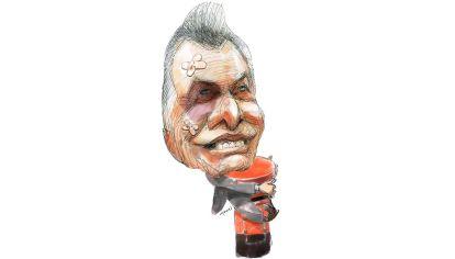 'Este buzón me pertenece', Mauricio Macri.