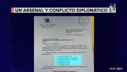 Bolivia acusó al gobierno de Mauricio Macri de enviar material para reprimir