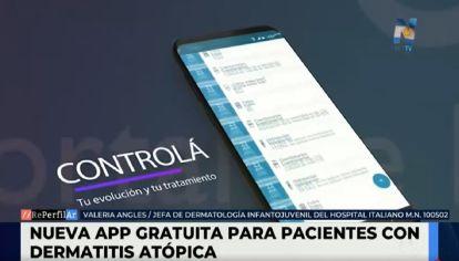El Hospital Italiano lanzó una aplicación gratuita para los pacientes con dermatitis atópica