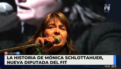 Mónica Schlottauer: de barrendera en Once a diputada nacional por el FIT