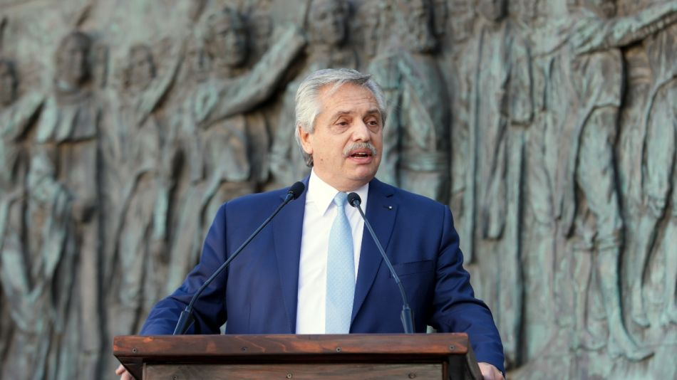 Presidente Alberto Fernández. Nuevo decreto con medidas.
