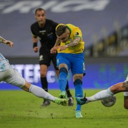 Images from the Copa América final between Argentina and Brazil at the Maracanã on Saturday, July 10, 2021.