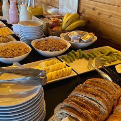 Gastronomía del restaurante Terrazas del Refugio, San Martín de los Andes