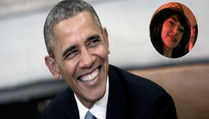 Barack Obama mostró qué canción escucha de Nicki Nicole