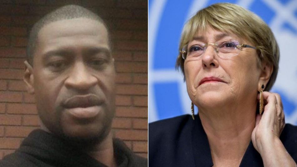 George Floyd Michelle Bachelet