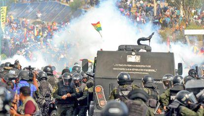 Sangriento. Tras el golpe de Estado, se consumó una feroz represión con decenas de muertos.