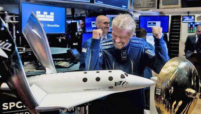 Soñador. Branson cuenta que desea ir al espacio desde la misión Apollo XI, en 1969. Hoy lo hará realidad con su empresa Virgin Galactic.