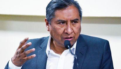 Rogelio Mayta, canciller de Bolivia.