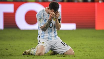 La emoción de Leo Messi