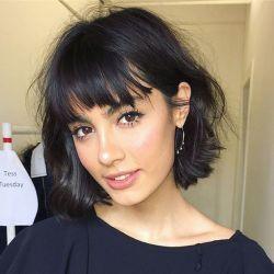 Flequillo pelo corto