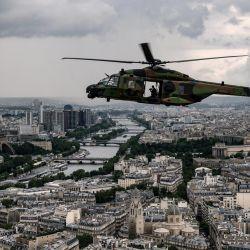 Un helicóptero NH90  | Foto:Bertrand Guay / AFP