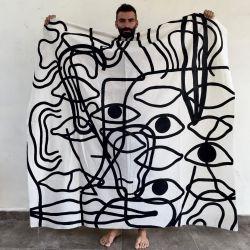 ExequielBalut, el artista argentino que introduce sus obras en la naturaleza