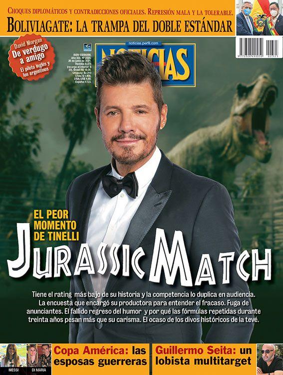 Tapa Nº 2325: JurassicMatch, el peor momento de Marcelo Tinelli   Foto:Pablo Temes