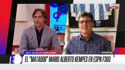 Mario Kempes y Gustavo López
