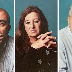 César Gabriel Romero, Rosa Yabo y Horacio Neuah | Foto:Alejandra López