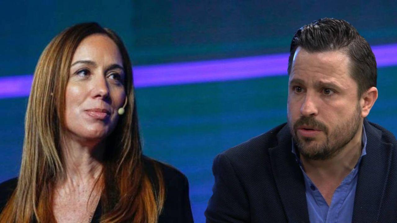 Vidal y Tetaz, primera y segundo en la lista porteña de JXC.  | Foto:CEDOC