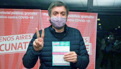 Duro. Máximo Kirchner criticó la indemnidad otorgada a los laboratorios.