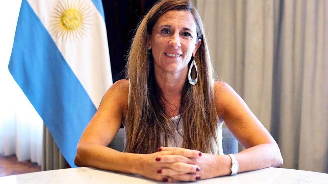 Knowledge Economy Undersecretary María Apólito.