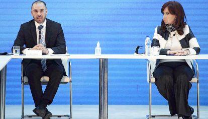 Deshielo. Cristina Kirchner volvió a hablar con Guzmán después de la pelea por el cargo en Energía.