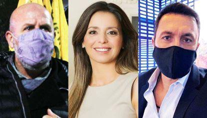 Ala dura. Waldo Wolff, Mariana Zuvic y Luis Petri criticaron el discurso de Cristina Fernández.