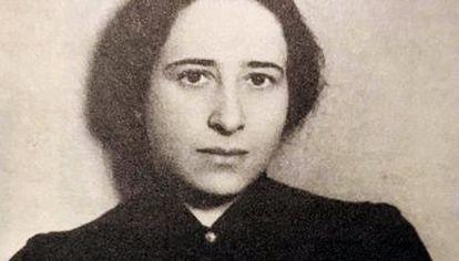 Filósofa. Pensadora Hannah Arendt.
