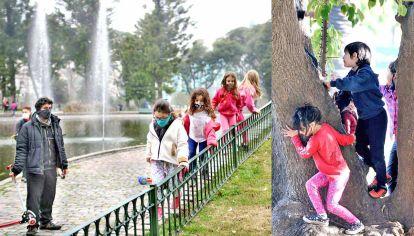 Receso. Durante dos semanas los chicos coparán las plazas y parques porteños. Habrá actividades en todos los barrios.