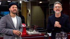 Luis Novaresio y Braulio Bauab juntos en televisión tras su casamiento