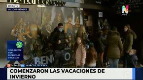 vacaciones de invierno Avenida Corrientes