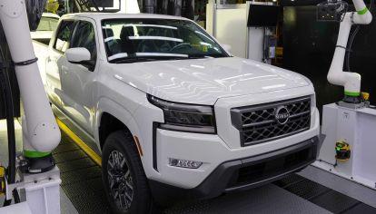 Nissan inició la producción en serie de la nueva Frontier